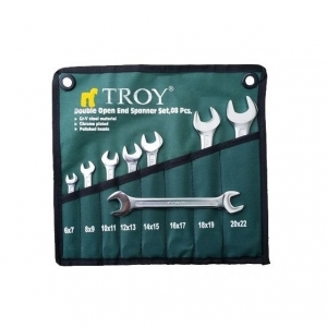 Set chei fixe Troy T21508, Ø6-22 mm, 8 piese