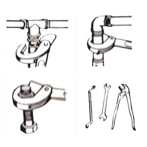 Set chei universale tip Spanner (9-32mm) WERT4