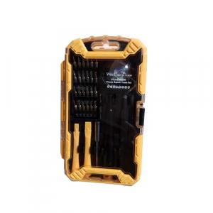 Trusa surubelnite de precizie pentru telefoane mobile Wert W2258, 32 piese1