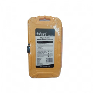 Trusa surubelnite de precizie pentru telefoane mobile Wert W2258, 32 piese2