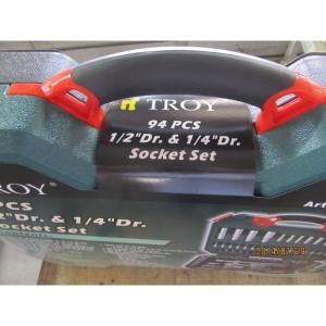 Trusa chei tubulare si biti Troy T26101, 94 piese7