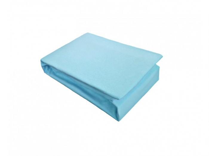 Husa saltea cu elastic 160x200 Albastru [0]