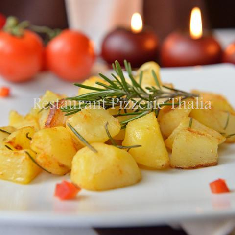 Cartofi cu rozmarin la cuptor 0
