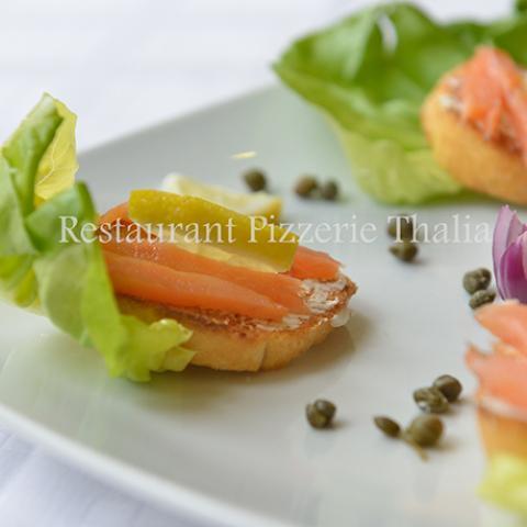 Bruschette salmone 0