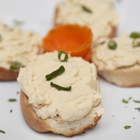 Bruschette cu humus 0