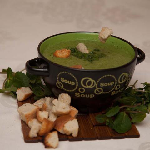 Supă cremă de broccoli 0