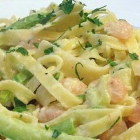 Tagliatelle cu Somon si Zucchini [0]