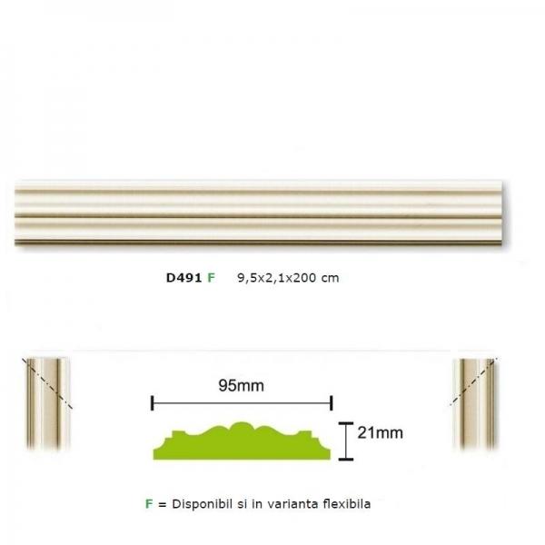 Brau de perete D491 - flexibil 0