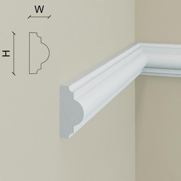Brau de perete - polimer rigid B4 (2.00m) 1