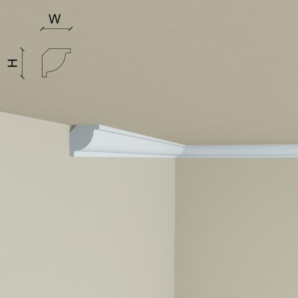 Cornisa din polimer rigid C2 (2.00m) 1