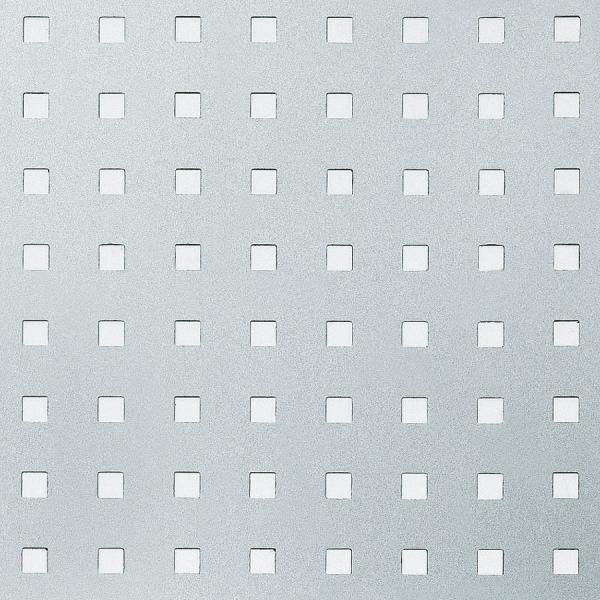 Panou de perete 10988 3D QUAD gaură pătrată 3D din metal optic otel 1