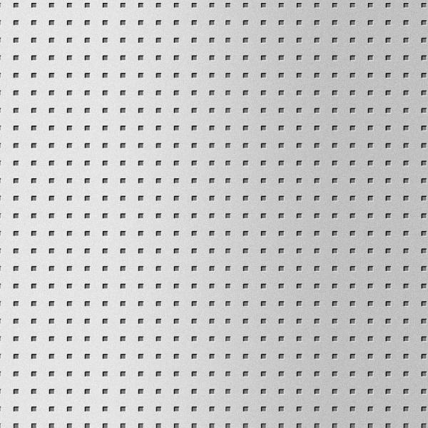 Panou de perete 10988 3D QUAD gaură pătrată 3D din metal optic otel 0