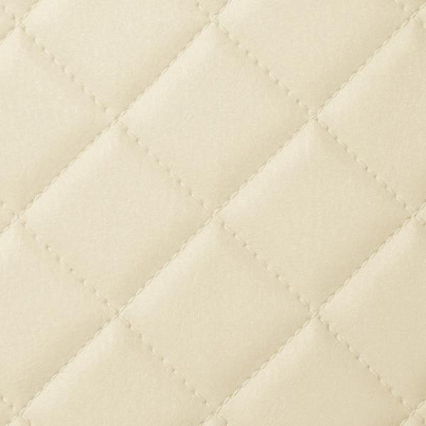 Panou de perete 13863 ROMBO 40 din piele culoare bej mată 1