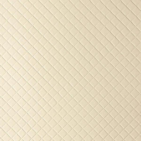 Panou de perete 13863 ROMBO 40 din piele culoare bej mată 0