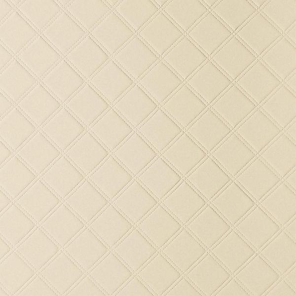 Panou de perete 13867 ROMBO 85, din piele,  matlasat, bej 0