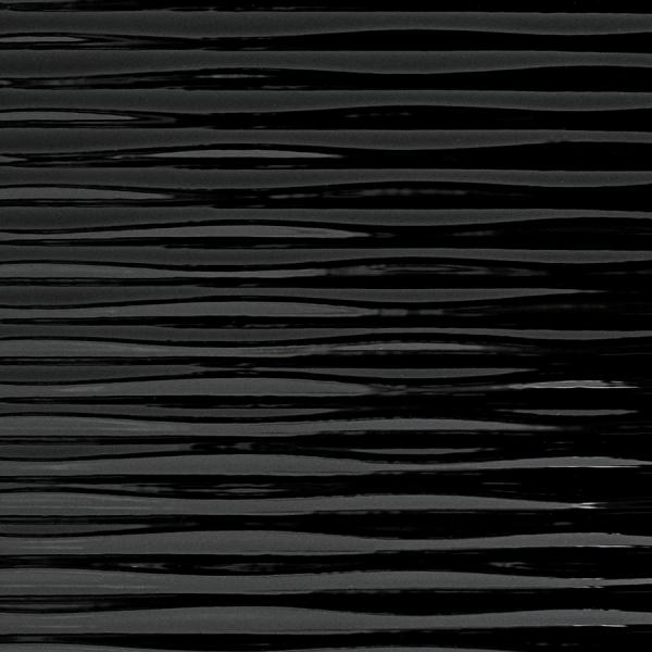 Panou de perete 15763 Motion TWO Structura Plastic 3D Optic Negru 1