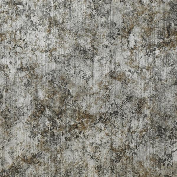Panou de perete 17269 VINTAGE aspect de piele argintiu - gri [1]