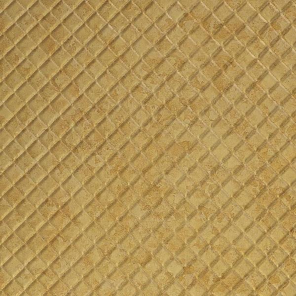 Panou de perete 17849 ROMBO ANTIGUA -aspect piele aurie 0