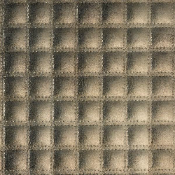 Panou de perete 17851 quadro aspect de piele matlasat culoare bronz lucios 1