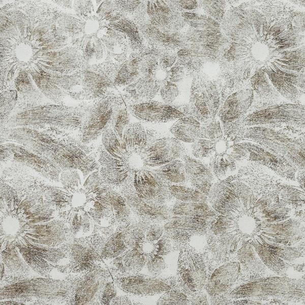 Panou decorativ  17036 DECO FLEUR Floral argint/maro 1