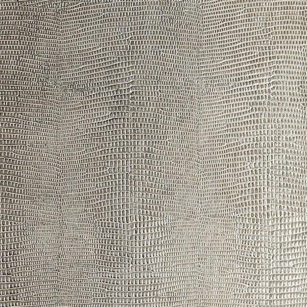 Panou decorativ 12893 LEGUAN imitație de piele iguana- gri argint 1