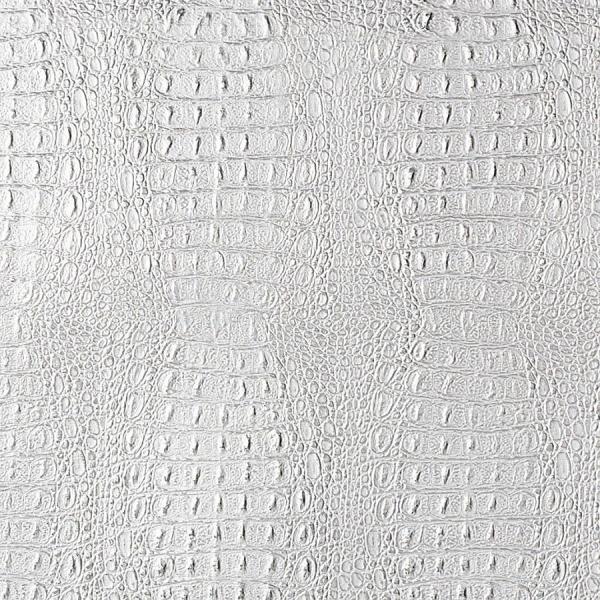 Panou decorativ 13520 CROCO piele crocodil 3D - argintiu 0