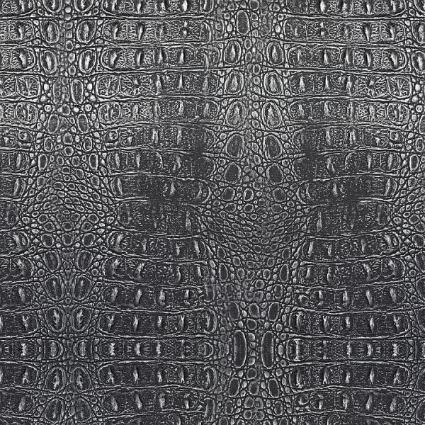 Panou decorativ 13521 CROCO  piele de crocodil 3D Optic gri negru 0
