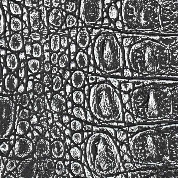 Panou decorativ 13521 CROCO  piele de crocodil 3D Optic gri negru 1