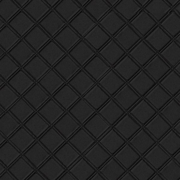 Panou decorativ 15030 ROMBO Checked Leather 3D Optics Negru 0