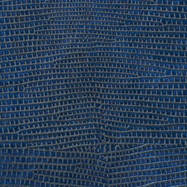 Panou decorativ 16986 LEGUAN imitație de piele iguana optică albastru 1