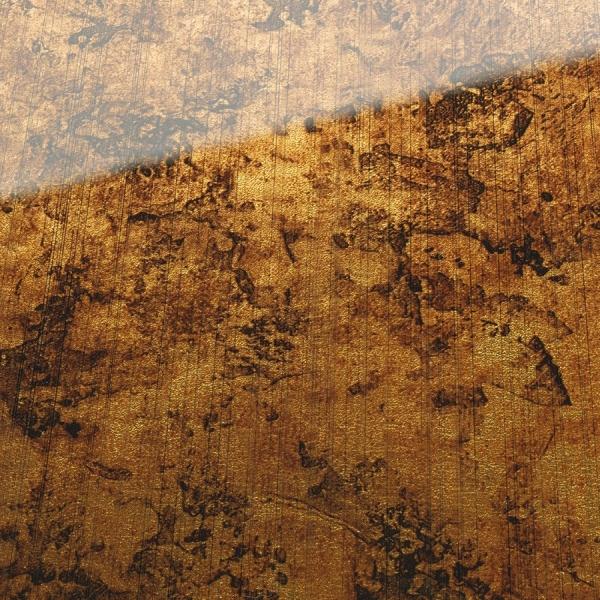 Panou decorativ 17161 VINTAGEaspect sticlă  de culoare brună 1