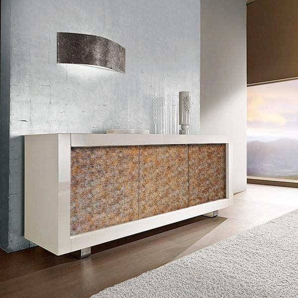 Panou decorativ 14805 LAVA 3D- culoare brun 2