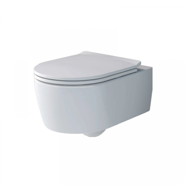 Set vas WC suspendat  Villeroy & Boch, Avento Soul , cu capac soft close, quick release,Direct Flush, alb 4656HR01 0