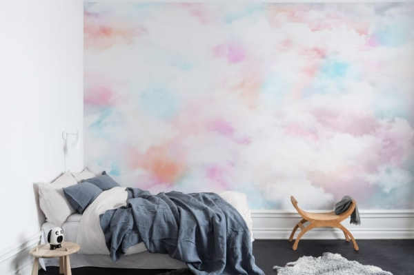 Tapet R15411- Coral Clouds 1