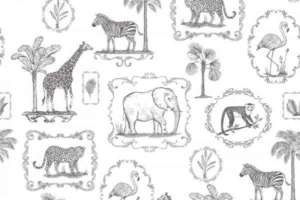 Tapet R15271- Animal Party [0]