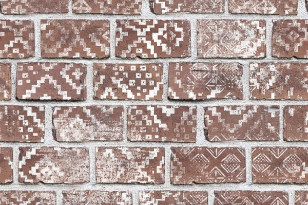 Tapet R15231- Decorated Bricks 0