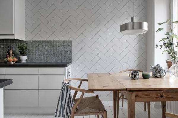 Tapet R14781- Fishbone Tiles 2