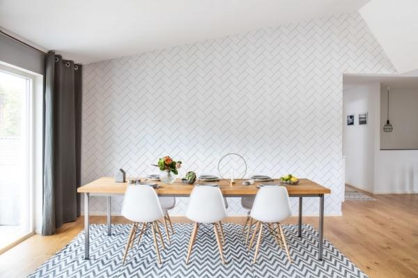 Tapet R14781- Fishbone Tiles 1