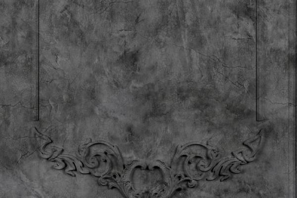 Tapet R15462 Noble Flair - Noir 0