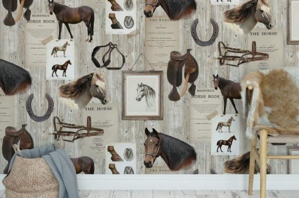Tapet R15551-Horse Mania [2]