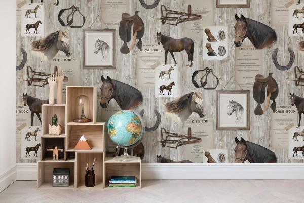 Tapet R15551-Horse Mania 1