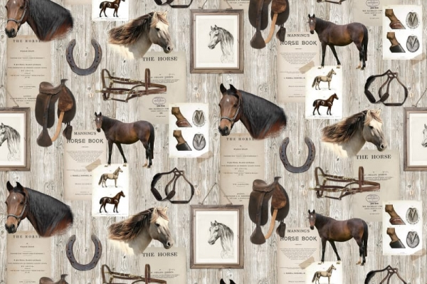 Tapet R15551-Horse Mania 0