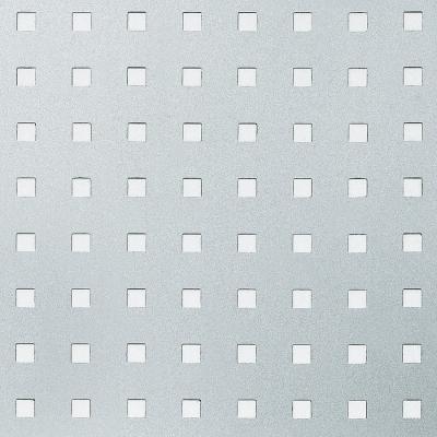 Panou de perete 10988 3D QUAD gaură pătrată 3D din metal optic otel1