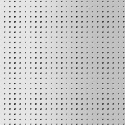 Panou de perete 10988 3D QUAD gaură pătrată 3D din metal optic otel0