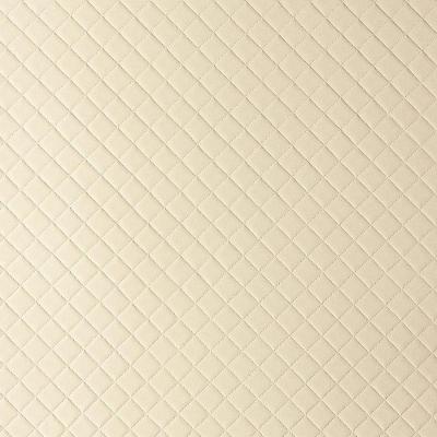 Panou de perete 13863 ROMBO 40 din piele culoare bej mată0