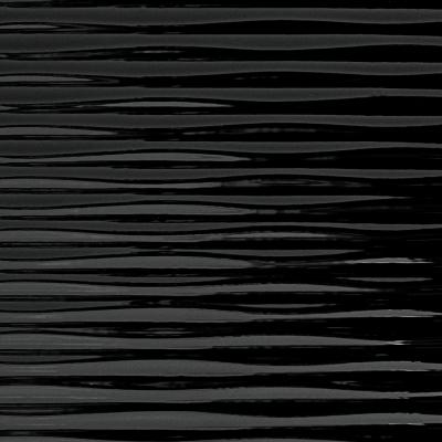 Panou de perete 15763 Motion TWO Structura Plastic 3D Optic Negru1