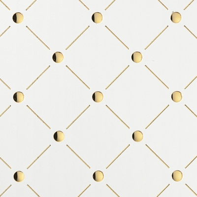 Panou de perete- 17856- Optica 3D mozaic aur + alb [1]