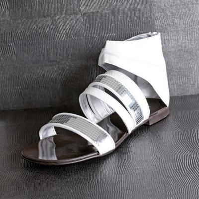 Panou decorativ 12893 LEGUAN imitație de piele iguana- gri argint4