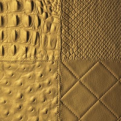 Panou decorativ 13926 COLLAGE Colaj de piele Retro1