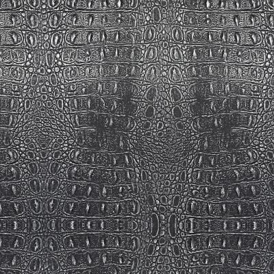 Panou decorativ 13521 CROCO  piele de crocodil 3D Optic gri negru0
